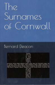 Surnames of Cornwall